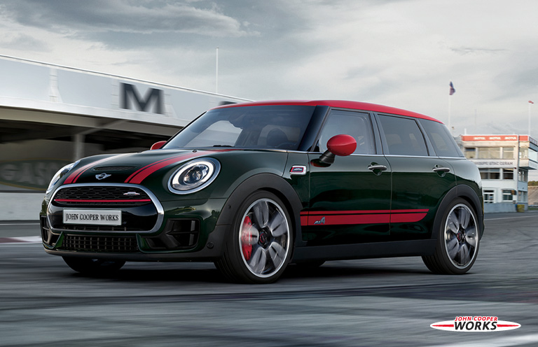 THE MINI JOHN COOPER WORKS CLUBMAN.