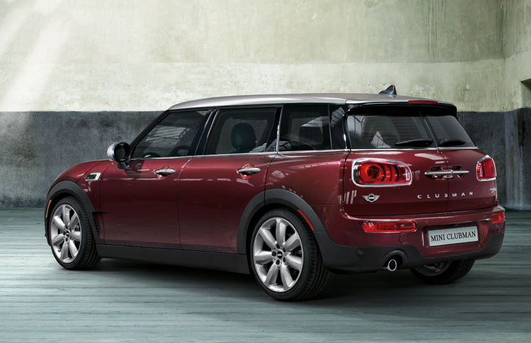 THE MINI CLUBMAN.