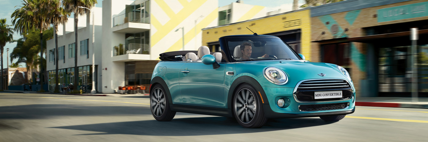 THE MINI CONVERTIBLE.