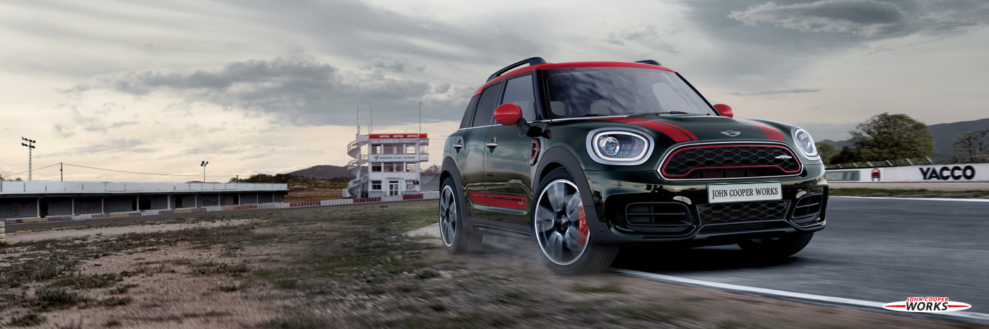 LA NOUVELLE MINI JOHN COOPER WORKS COUNTRYMAN ALL4.