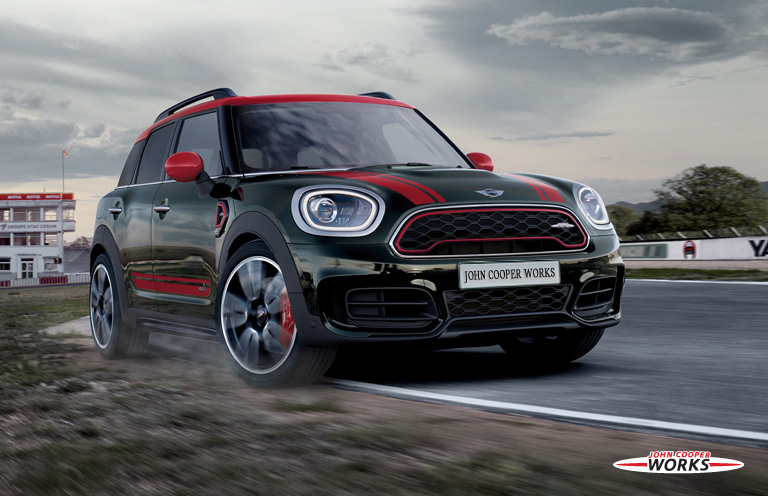 THE NEW MINI JOHN COOPER WORKS COUNTRYMAN ALL4.