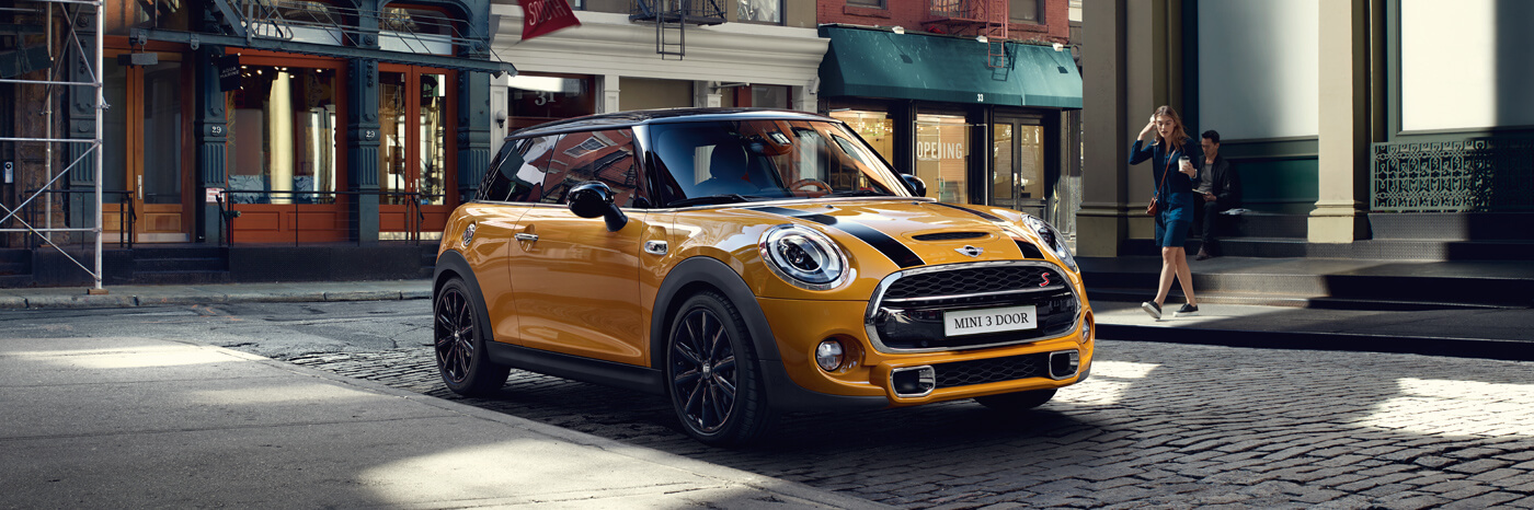 THE 2016 mini 3 door.