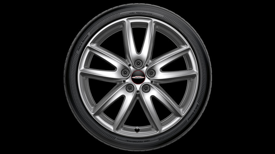 "18"" GRIP SPOKE 520, ALLOY WHEEL."