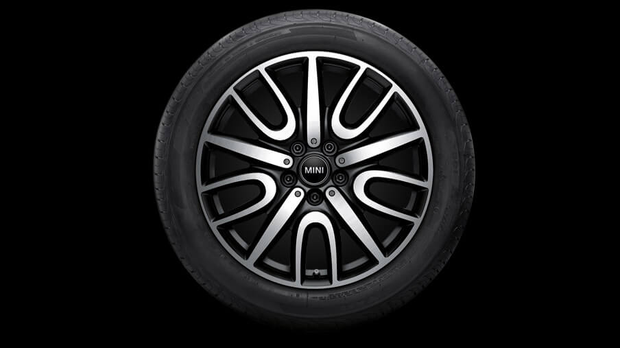 "18"" JCW Thrill Spoke, Style 529, Black"
