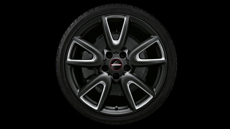 "18"" DOUBLE SPOKE 534, MATTE BLACK, MILLED."