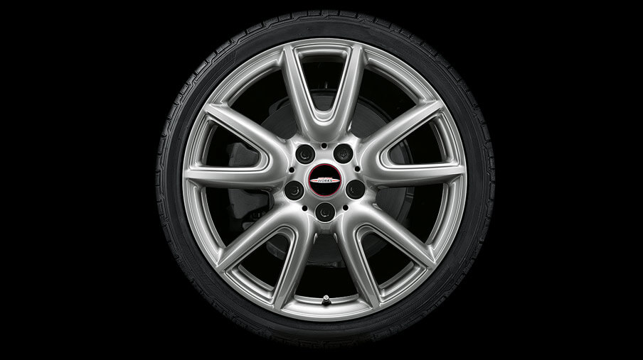 "18"" DOUBLE SPOKE 534, FERRIC GREY."