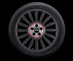 "18"" DOUBLE SPOKE 534, MATTE BLACK, MILLED"