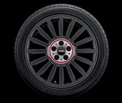 "19"" JCW Rally Spoke, Style 536, Orbit Grey"