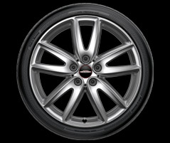 "18"" GRIP SPOKE 520, ALLOY WHEEL"