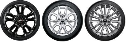 """MINI APPROVED <br class=""""hidden-xs"""">COLD WEATHER WHEEL PACKAGES."""