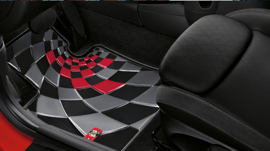 ALL-WEATHER FLOOR MATS.