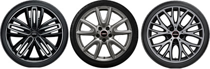 MINI APPROVED HIGH-PERFORMANCE SUMMER WHEEL PACKAGES.