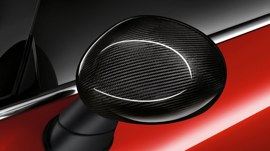 WING MIRROR CAPS, CARBON FIBRE.*