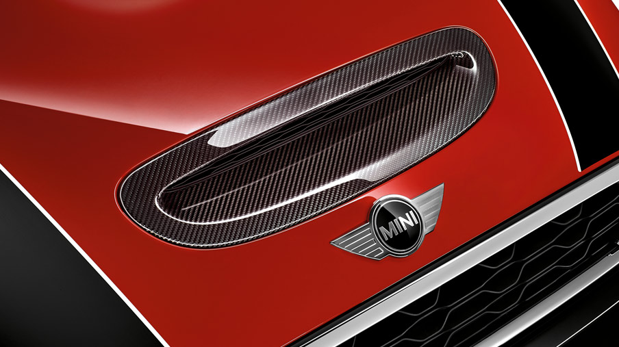 AIR INTAKE TRIM, CARBON FIBRE.*