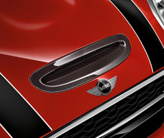 AIR INTAKE TRIM, CARBON FIBRE*