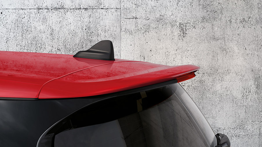 MINI John Cooper Works Clubman ALL4 chili red roof