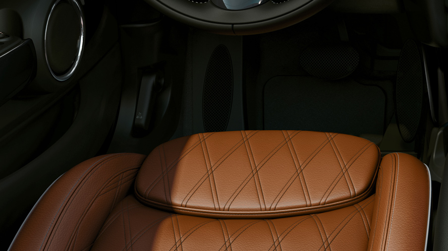 LEATHER CHESTER MALT BROWN