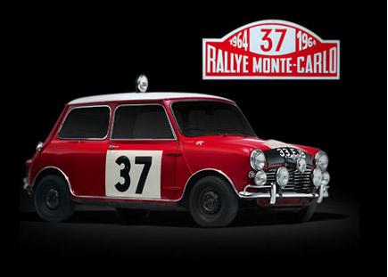 RALLYE DE MONTE-CARLO.