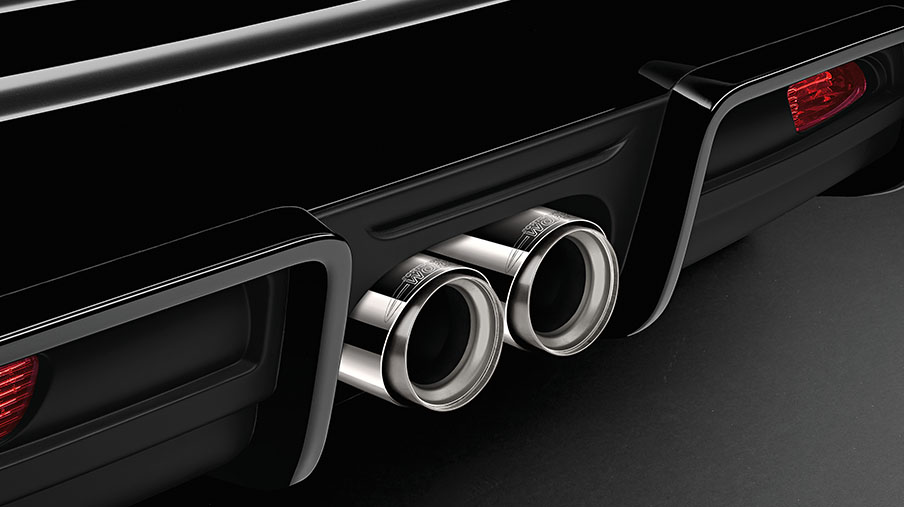 JCW PRO EXHAUST PIPE FINISHER - CHROME.<br/> MSRP $131.14