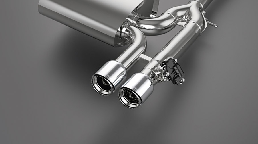 JCW PRO VALVE EXHAUST SYSTEM.<br/>