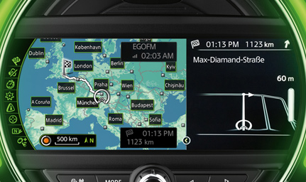 MINI Navigation System.