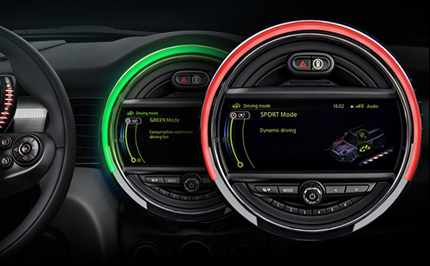 Adjustable Driving Modes.