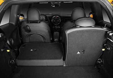 60:40 Folding Rear Seats.