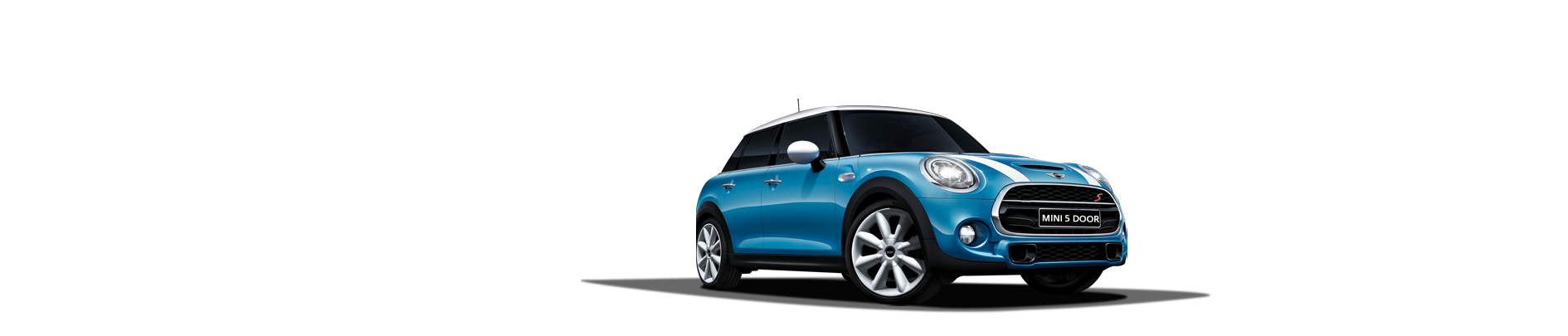 THE NEW MINI. NOW WITH 5 DOORS.
