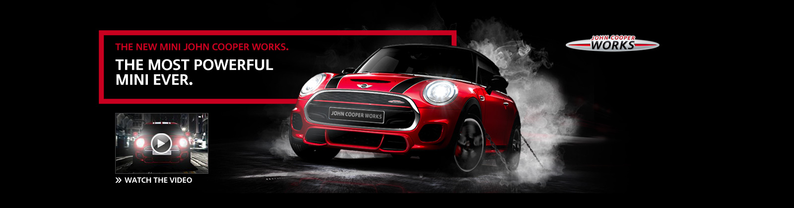 The New MINI John Cooper Works